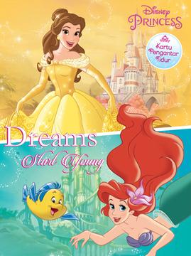 Kartu Pengantar Tidur Disney Princess: Dreams Start Young