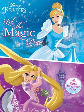 Kartu Pengantar Tidur Disney Princess: Let the Magic Begin