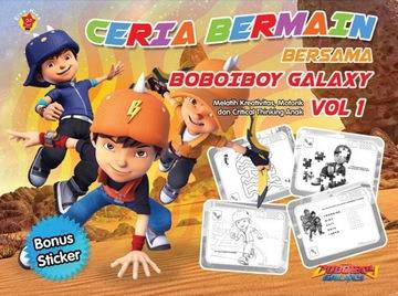 CERIA BERMAIN BERSAMA BOBOIBOY GALAXY VOL. 1