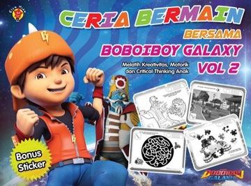 CERIA BERMAIN BERSAMA BOBOIBOY GALAXY VOL. 2