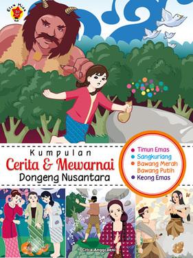 kumpulan cerita dan mewarnai Dongeng Nusantara