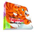 Board book Buka Tutup Seri Bermain Bersama Tigeram Harimau yang Kuat