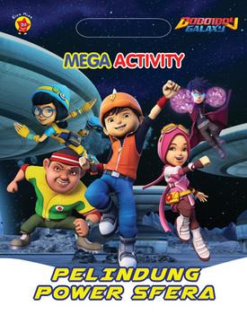 Mega Activity Boboiboy Galaxy: Pelindung Power Sfera