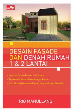 Desain Fasade dan Denah Rumah 1 & 2 Lantai