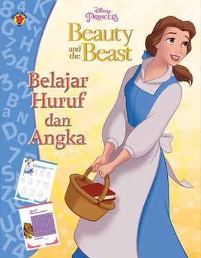 Aktivitas Beauty and The Beast: Belajar Huruf dan Angka