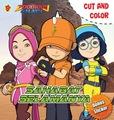 Cut and Color Boboiboy Galaxy: Sahabat Selamanya Animonsta Studio Sdn. Bhd