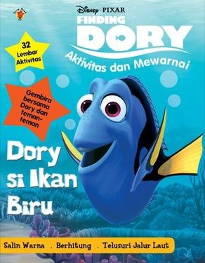 Aktivitas dan Mewarnai Finding Dory: Dory Si Ikan Biru