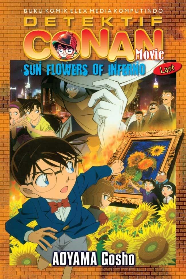 Conan Movie : Sunflowers of Inferno Last