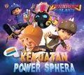 Boboiboy Galaxy Sticker Creative : Kekuatan Power Sphera
