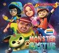 Boboiboy Galaxy Sticker Creative : Monster Cattus
