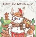 Board book : Barton dan Kancing Awan