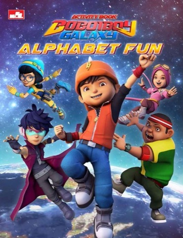Activity Book BoBoiBoy Galaxy : Alphabet Fun