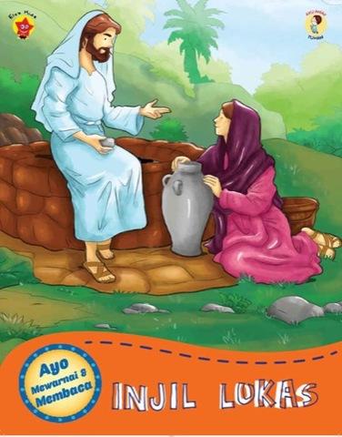 Ayo Mewarnai dan Membaca Injil Lukas