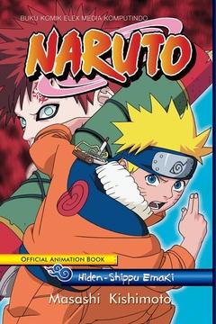 Naruto Official Animation Book: Hiden - Shippu Emaki