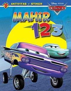 Aktivitas Cars + Stiker: Mahir 123