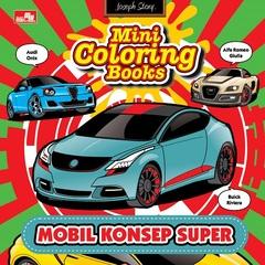 Mini Coloring Books Mobil Konsep Super