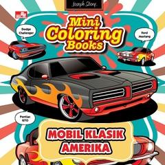 Mini Coloring Books Mobil Klasik Amerika