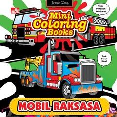 Mini Coloring Books Mobil Raksasa