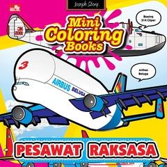 Mini Coloring Books Pesawat Raksasa