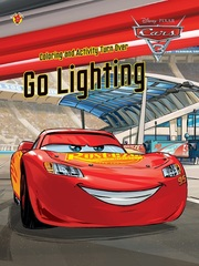 Coloring and Activity Turn Over Cars 3- Go Lightning