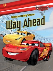 Coloring and Activity Turn Over Cars 3 - Way Ahead