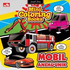 Mini Coloring Books-Mobil Aneh dan Unik