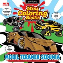 Mini Coloring Books-Mobil Teraneh Sedunia