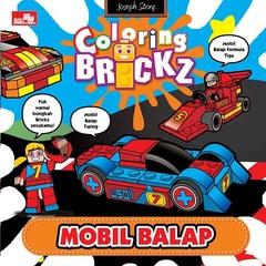 Mini Coloring Brickz-Mobil Balap
