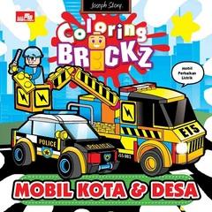 Mini Coloring Brickz-Mobil Kota dan Desa