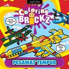 Mini Coloring Brickz-Pesawat Tempur