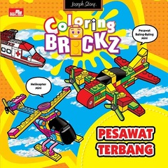 Mini Coloring Brickz-Pesawat Terbang