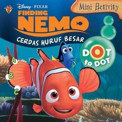 Mini Activity Finding Nemo: Dot to Dot Cerdas Huruf Besar