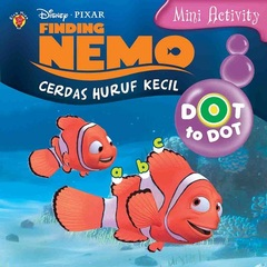 Mini Activity Finding Nemo: Dot to Dot Cerdas Huruf Kecil