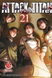 LC: Attack on Titan 21 Hajime Isayama