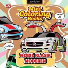 Mini Coloring Books-Mobil Klasik Modern