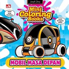 Mini Coloring Books-Mobil Masa Depan