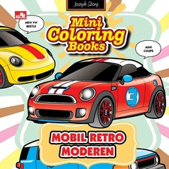 Mini Coloring Books-Mobil Retro Modern