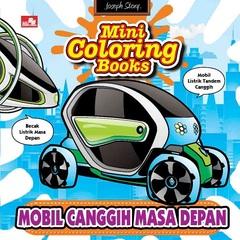 Mini Coloring Books-Mobil Canggih Masa Depan
