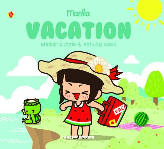 Sticker Puzzle Manka Vacation