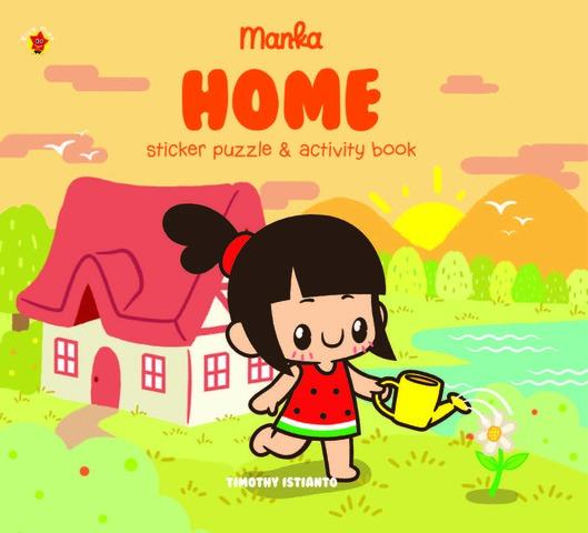 Sticker Puzzle Manka Home