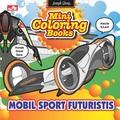 Mini Coloring Books-Mobil Sport Futuristis