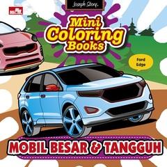 Mini Coloring Books-Mobil Besar & Tangguh