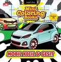 Mini Coloring Books-Mobil Kecil & Gesit
