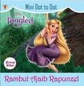 Mini Dot to dot + Stiker Tangled: Rambut Ajaib Rapunzel