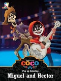 Pop Up Coloring Coco - Miguel and Hector