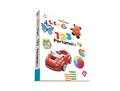 Board book Trilingual Aku Cerdas: 123 Pertamaku