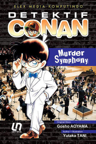 Light Novel Detektif Conan: Murder Symphony