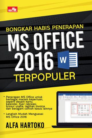 Bongkar Habis Penerapan MS Office 2016 Terpopuler