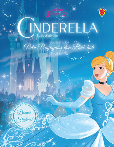 Aktivitas Cinderella + Stiker: Putri Penyayang dan Baik Hati