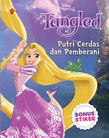 Aktivitas Tangled + Stiker: Putri Cerdas dan Pemberani